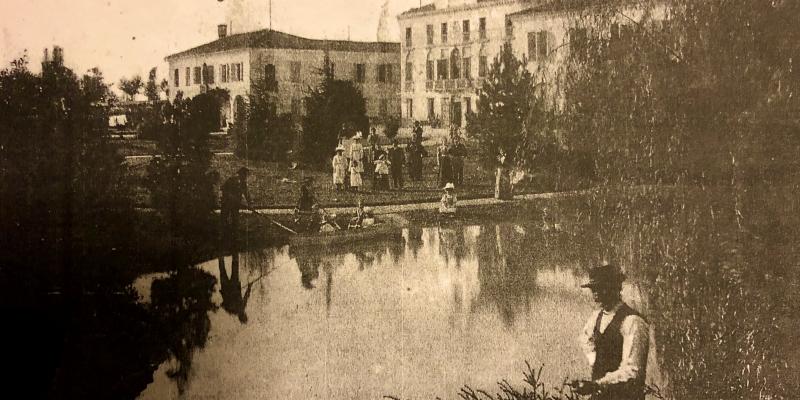Il rio, il lago, zattere, piroghe e malanni